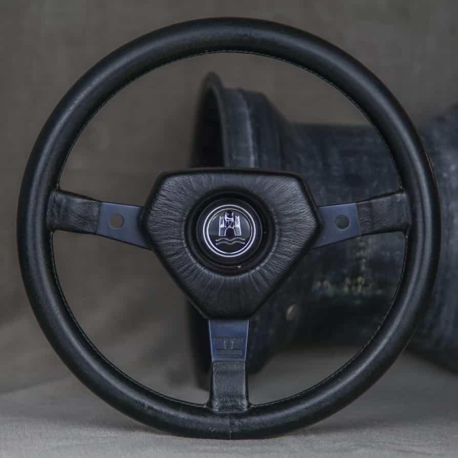 """1970` MOMO """"prototipo S"""" Lenkrad – VW Käfer / Karmann Ghia"""